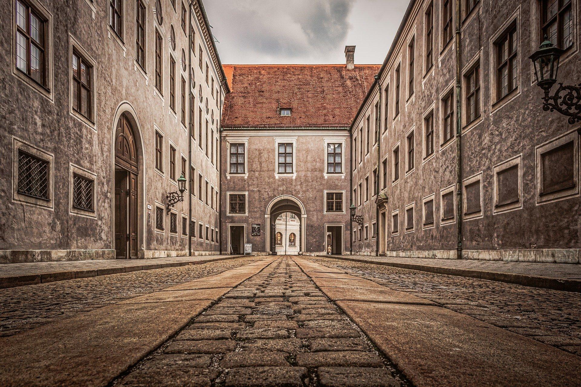 München historische Gebäude